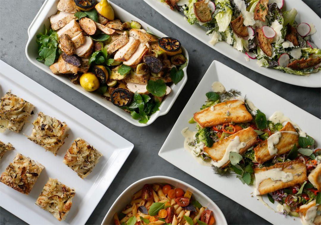 Italian Dinner Full Spread